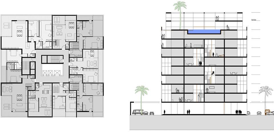 Loggia Individual Residential Tower Sinning Architekten