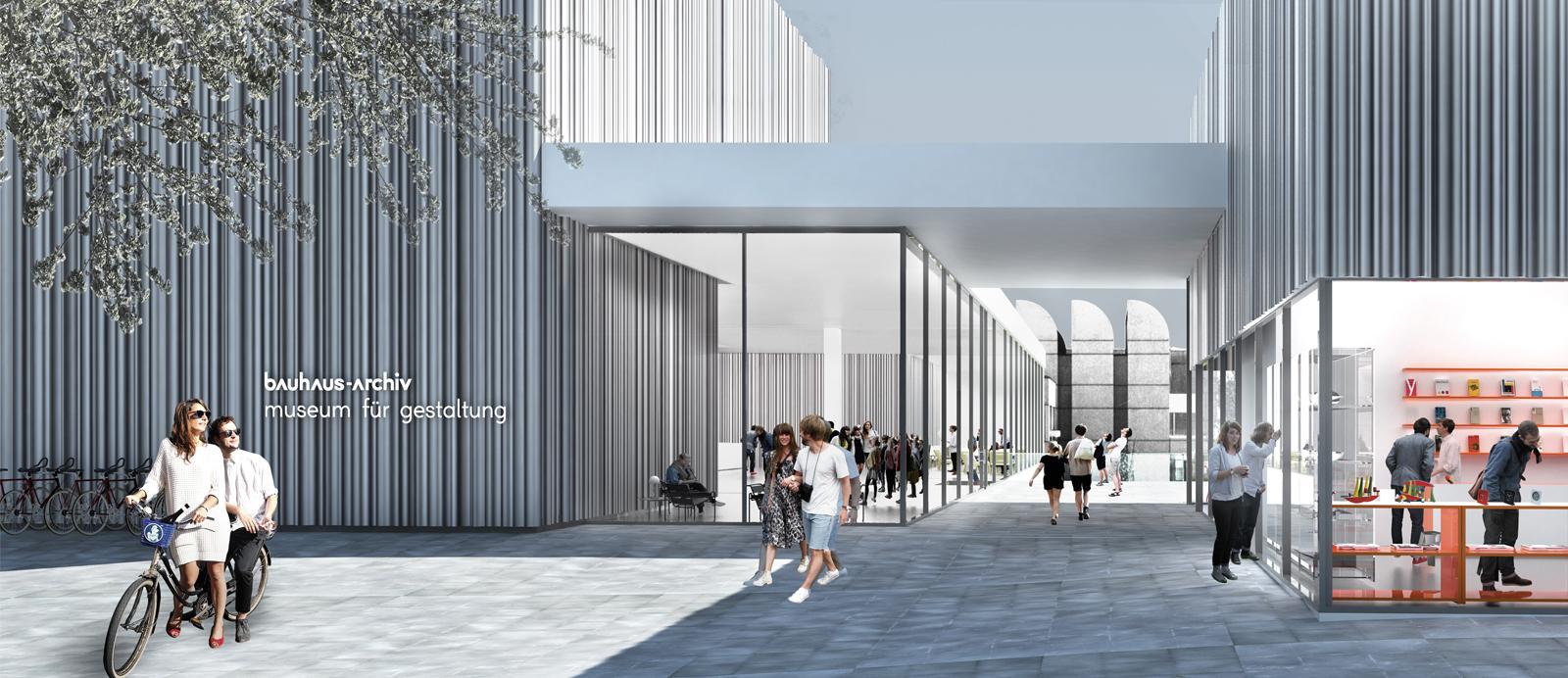 Bauhaus Archiv Berlin Sinning Architekten